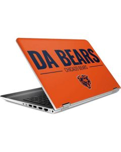 Chicago Bears Team Motto HP Pavilion Skin