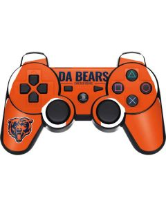 Chicago Bears Team Motto PS3 Dual Shock wireless controller Skin
