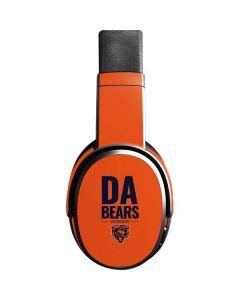 Chicago Bears Team Motto Skullcandy Crusher Wireless Skin