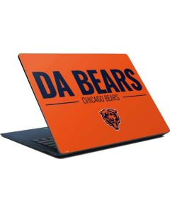 Chicago Bears Team Motto Surface Laptop Skin