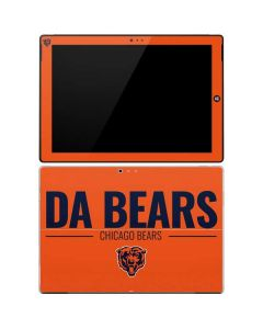 Chicago Bears Team Motto Surface Pro 3 Skin