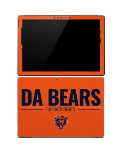 Chicago Bears Team Motto Surface Pro 4 Skin