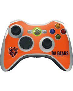 Chicago Bears Team Motto Xbox 360 Wireless Controller Skin