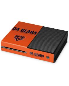 Chicago Bears Team Motto Xbox One Console Skin