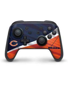 Chicago Bears Nintendo Switch Pro Controller Skin