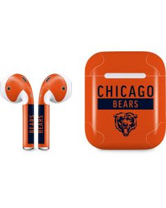 Chicago Bears Orange Performance Series Apple AirPods Skin