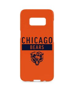 Chicago Bears Orange Performance Series Galaxy S8 Plus Lite Case