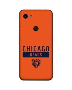 Chicago Bears Orange Performance Series Google Pixel 3a Skin