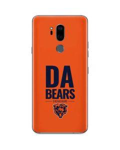 Chicago Bears Team Motto G7 ThinQ Skin