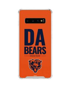 Chicago Bears Team Motto Galaxy S10 Clear Case