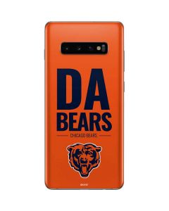 Chicago Bears Team Motto Galaxy S10 Plus Skin