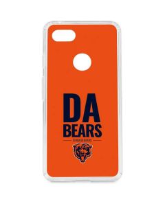 Chicago Bears Team Motto Google Pixel 3 XL Clear Case