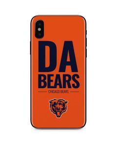 Chicago Bears Team Motto iPhone X Skin