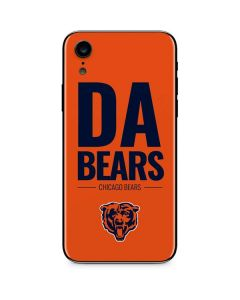 Chicago Bears Team Motto iPhone XR Skin