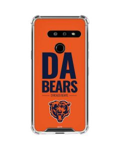 Chicago Bears Team Motto LG G8 ThinQ Clear Case