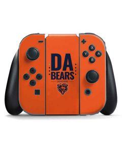 Chicago Bears Team Motto Nintendo Switch Joy Con Controller Skin