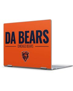 Chicago Bears Team Motto Pixelbook Skin