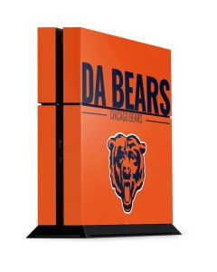 Chicago Bears Team Motto PS4 Console Skin