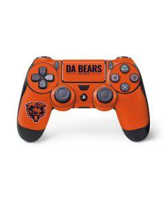 Chicago Bears Team Motto PS4 Controller Skin