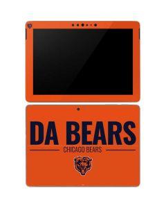 Chicago Bears Team Motto Surface Go Skin