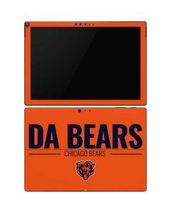 Chicago Bears Team Motto Surface Pro 6 Skin