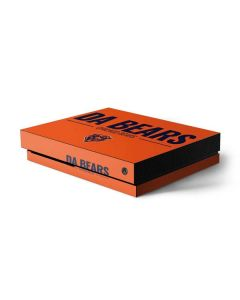 Chicago Bears Team Motto Xbox One X Console Skin