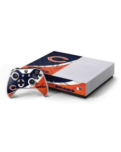 Chicago Bears Xbox One S Console and Controller Bundle Skin