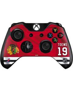 Chicago Blackhawks #19 Jonathan Toews Xbox One Controller Skin