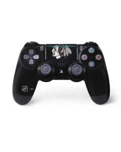 Chicago Blackhawks Black Background PS4 Pro/Slim Controller Skin