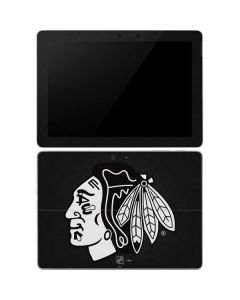 Chicago Blackhawks Black Background Surface Go Skin