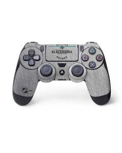 Chicago Blackhawks Black Text PS4 Pro/Slim Controller Skin