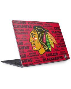 Chicago Blackhawks Blast Surface Laptop 2 Skin