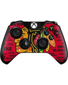 Chicago Blackhawks Blast Xbox One Controller Skin
