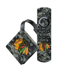 Chicago Blackhawks Camo Amazon Fire TV Skin