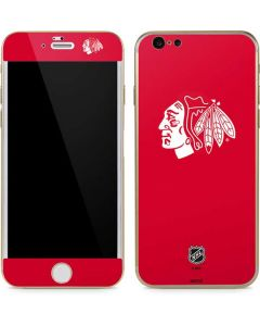 Chicago Blackhawks Color Pop iPhone 6/6s Skin