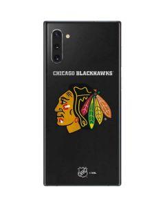 Chicago Blackhawks Distressed Galaxy Note 10 Skin