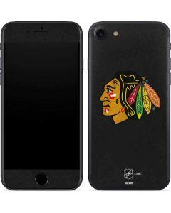 Chicago Blackhawks Distressed iPhone 7 Skin
