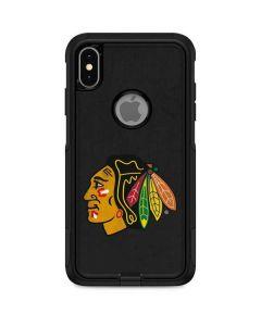 Chicago Blackhawks Distressed Otterbox Commuter iPhone Skin
