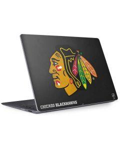 Chicago Blackhawks Distressed Surface Laptop 2 Skin