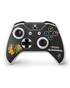 Chicago Blackhawks Distressed Xbox One S Controller Skin