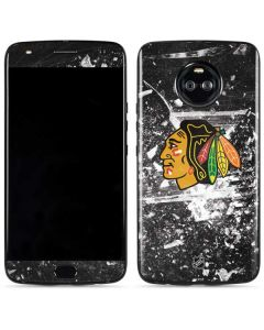 Chicago Blackhawks Frozen Moto X4 Skin