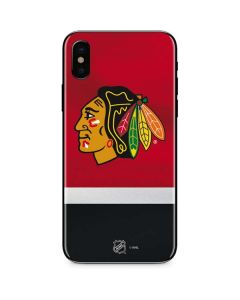 Chicago Blackhawks Jersey iPhone XS Skin
