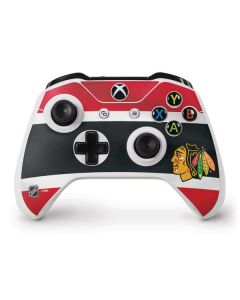 Chicago Blackhawks Jersey Xbox One S Controller Skin