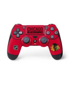 Chicago Blackhawks Lineup PS4 Controller Skin
