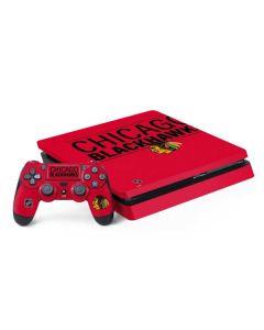 Chicago Blackhawks Lineup PS4 Slim Bundle Skin
