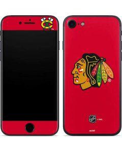 Chicago Blackhawks Solid Background iPhone 7 Skin