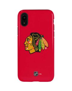 Chicago Blackhawks Solid Background iPhone XR Pro Case