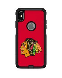 Chicago Blackhawks Solid Background Otterbox Commuter iPhone Skin