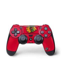 Chicago Blackhawks Solid Background PS4 Pro/Slim Controller Skin