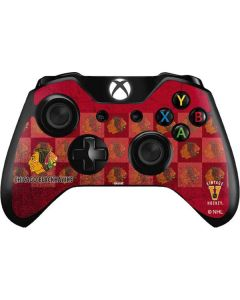Chicago Blackhawks Vintage Xbox One Controller Skin